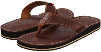 Tommy Bahama Beach Walker Perf'd Leather (Brown) - Footwear
