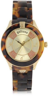 John Galliano Tortoise Pictural Women's Watch