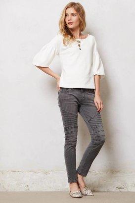 Current/Elliott Moto Ankle Skinny Jeans