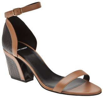Pierre Hardy Snake block heel sandal