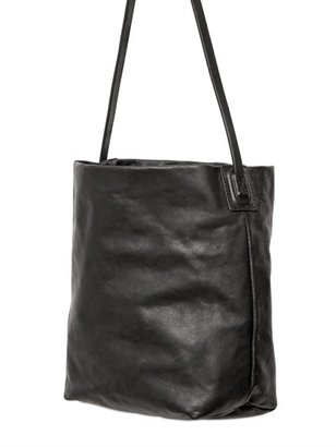 Rick Owens Leather Small Cross Body Shoulder Bag