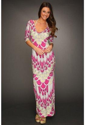 Mara Hoffman Criss-Cross Column Dress (Feather Pink) - Apparel