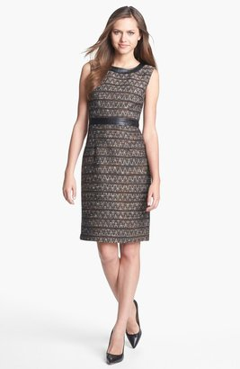 Trina Turk 'Foxe' Tweed Sheath Dress