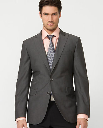 Le Château Wool Check Slim Fit Blazer
