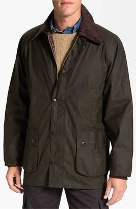 Men's Barbour 'Bedale' Relaxed Fit Waterproof Waxed Cotton Jacket $379 thestylecure.com