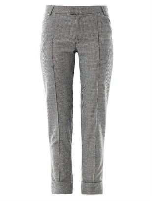 Band Of Outsiders Houndstooth wool trousers