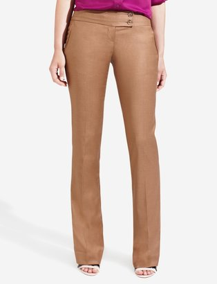 The Limited Drew Pieced-Edge Bootcut Pants