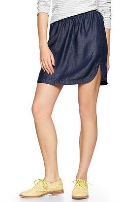 Gap Tencel® chambray skirt