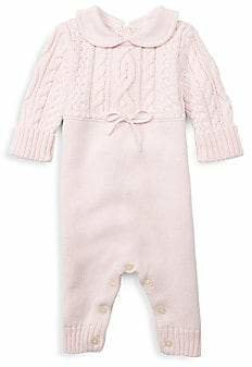 Ralph Lauren Infant's Cable-Knit Coverall