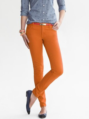Banana Republic Pop Color Skinny Ankle Jean