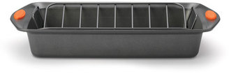 Rachael Ray 10x14-in. Nonstick Bakeware Roaster with V-Rack