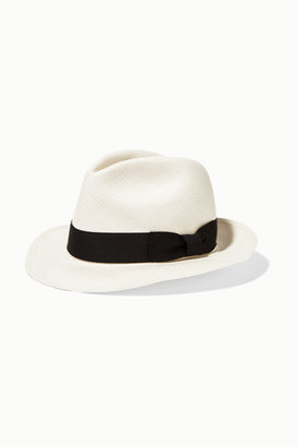 Sensi Studio - Classic Toquilla Straw Panama Hat - White $120 thestylecure.com