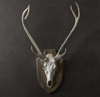 Restoration Hardware Deer Head in Cast Resin