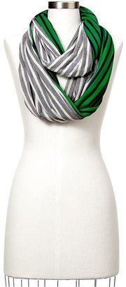 Gap Colorblock-stripe infinity scarf