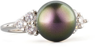 Majorica Round Pearl Ring