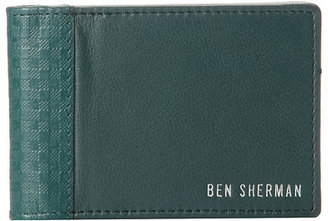 Ben Sherman Gingham Embossed Carfold Wallet