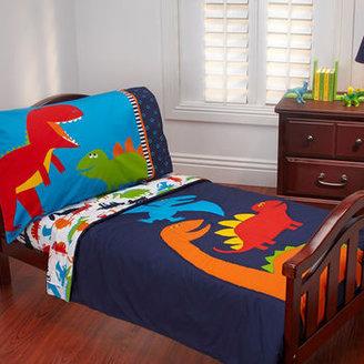 Carter's Dino Dreams 4-Piece Toddler Bedding Set