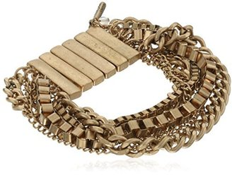 "Kenneth Cole New York Color Splash"" Multi-Chain Stretch Bracelet"