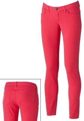 Mudd color skinny jeans