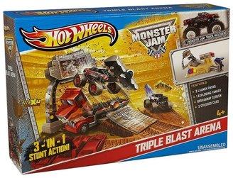 Hot Wheels Monster Jam Triple Blast Arena