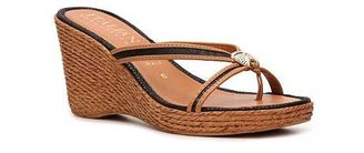 Italian Shoemakers Pearl Wedge Sandal