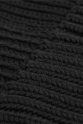 Stella McCartney Ribbed wool beanie