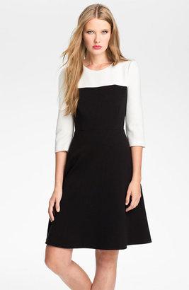 Kate Spade 'olsen' Colorblock Fit & Flare Dress