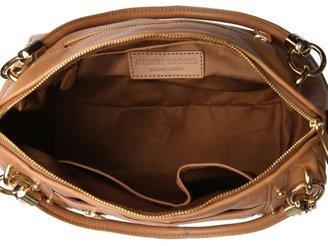 Audrey Brooke Leather Studded Satchel