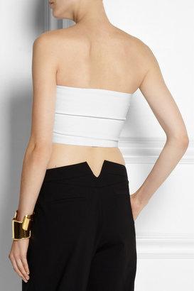 Calvin Klein Collection Robbie bandeau stretch-knit top