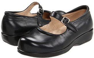 SoftWalk Jupiter (Black Soft Leather) Women's Shoes