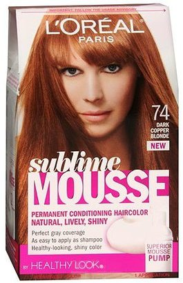 L'Oreal Sublime Permanent Hair Color Dark Copper Blonde