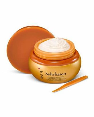 Sulwhasoo Concentrated Ginseng Renewing Eye Cream, 25 mL $180 thestylecure.com