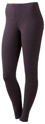 Lauren Conrad polka-dot leggings
