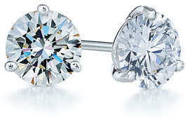 Women's Kwiat 1.25Ct Tw Diamond & Platinum Stud Earrings $7,100 thestylecure.com