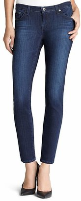 AG Legging Ankle Jeans in Coal Grey $168 thestylecure.com