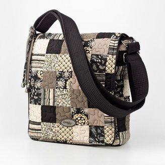 Donna Sharp quilted patchwork messenger bag