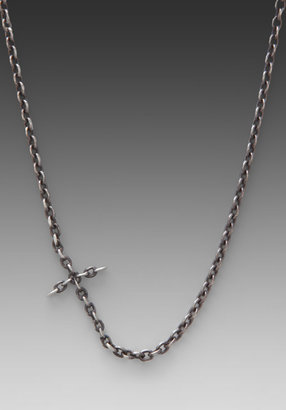 M.Cohen Chain Linked Cross Necklace