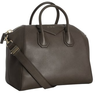 Givenchy charcoal calfskin 'Antigona' medium satchel