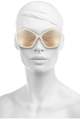 Miu Miu Hexagonal-frame acetate and metal sunglasses