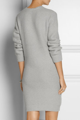 Richard Nicoll Waffle-knit angora-blend sweater dress