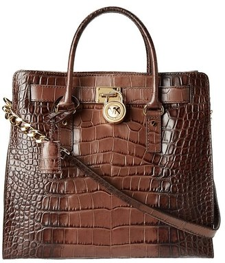 MICHAEL Michael Kors Hamilton 18K (Brown) - Bags and Luggage
