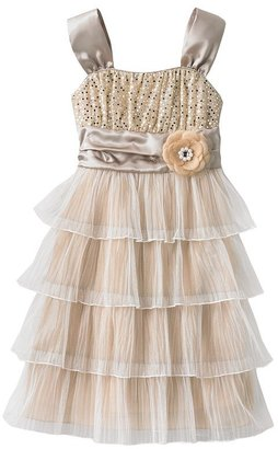 My Michelle emma tiered tulle dress - girls 7-16