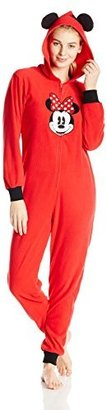 Disney Women's Minnie Mouse Microfleece Jumpsuit $64.50 thestylecure.com