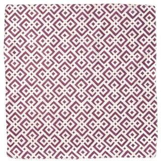 Lattice Napkins Aubergine (Set of 4)