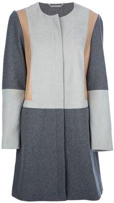 Diane von Furstenberg round-neck coat