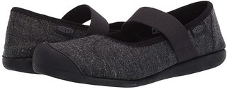 Keen Sienna MJ Canvas (Black/Black 1) Women's Flat Shoes