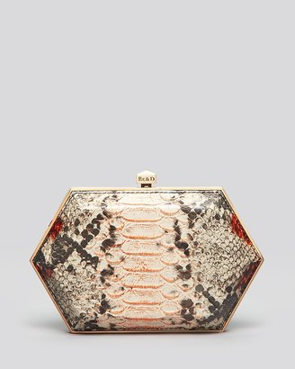 Be & D Clutch - Kumamoto Two-Sided Minaudiere