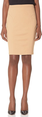 The Limited Soft Curved Inset Pencil Skirt