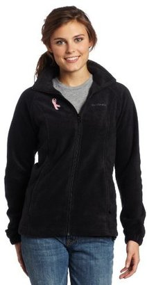 Columbia Women's Tested Tough In Pink Benton Springs Full Zip Jacket $24.90 thestylecure.com