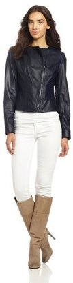 Elie Tahari Women's Brenna Leather Jacket
